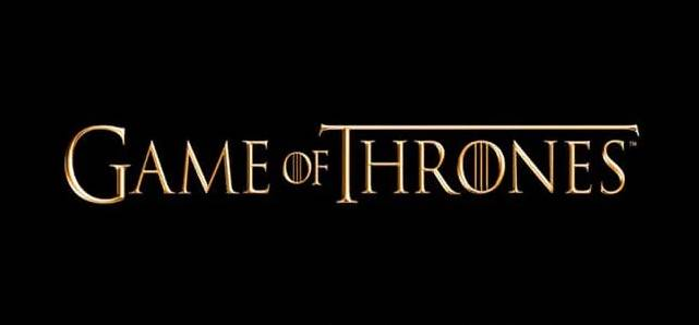 Game OF Thrones Font feature