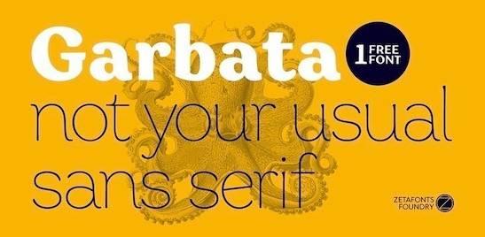 Garbata Font download