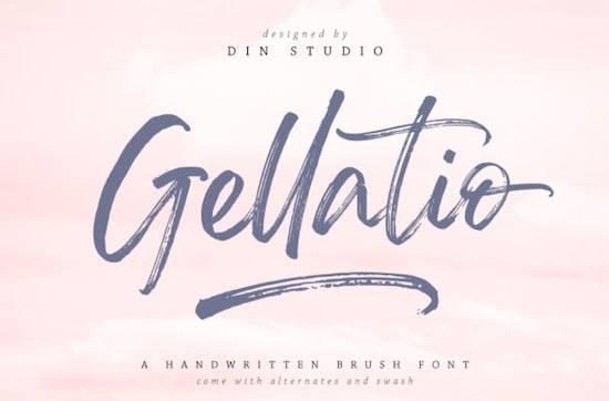 Gellatio font free download