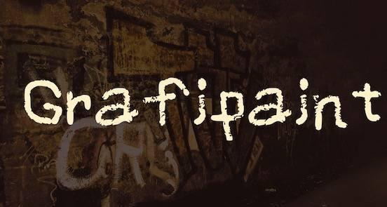 Grafipaint Font free
