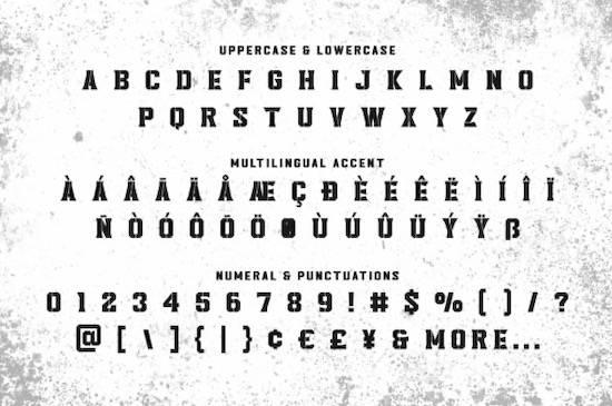 Headcorps font