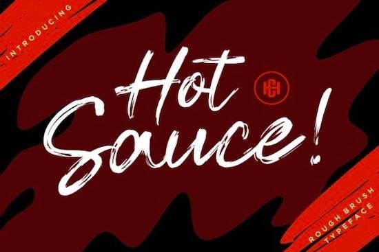 Hot Sauce font free download