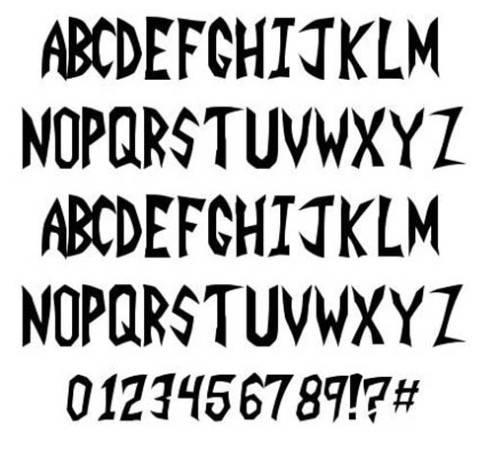 Invader Zim Font free