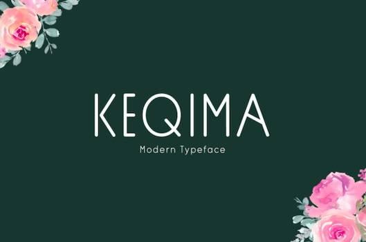 Keqima Font free download