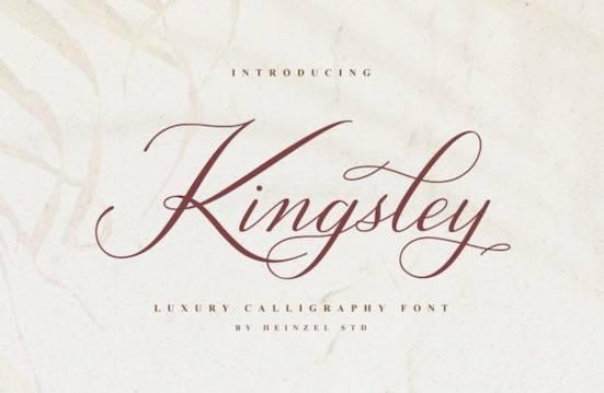 Kingsley font free download