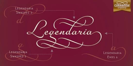 Legendaria Font free