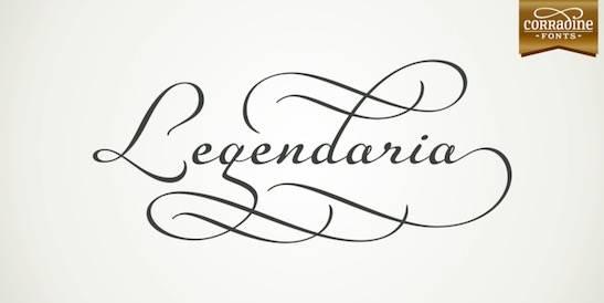 Legendaria Font download