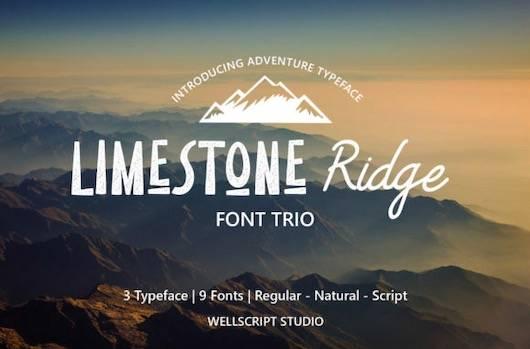 Limestone Ridge font free download