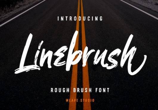 Linebrush Font free download