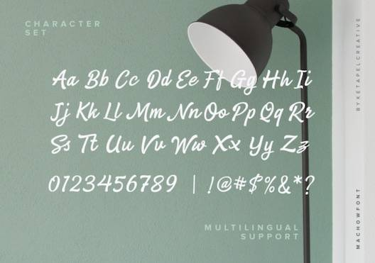 Machow Font free download