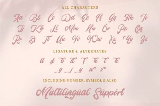 Mady Risaw font free