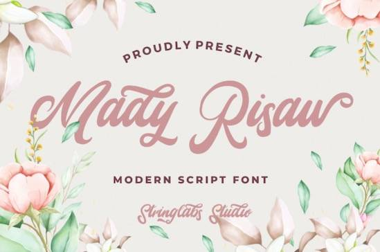 Mady Risaw font free download