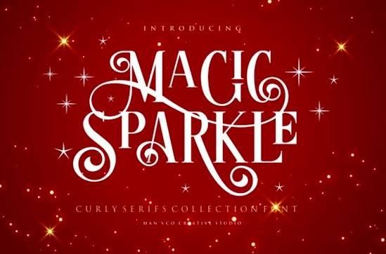 Magic Sparkle font free download