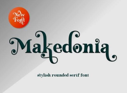 Makedonia font free download