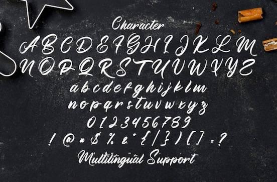 Manthesy font free