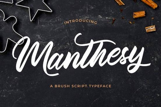 Manthesy font free download