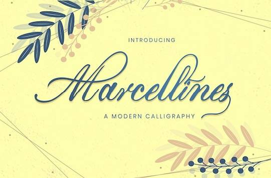 Marcellines Font free