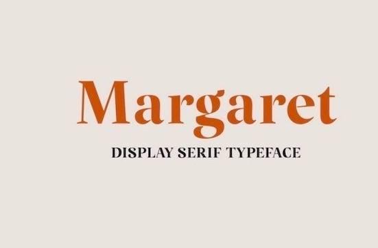 Margaret font free download
