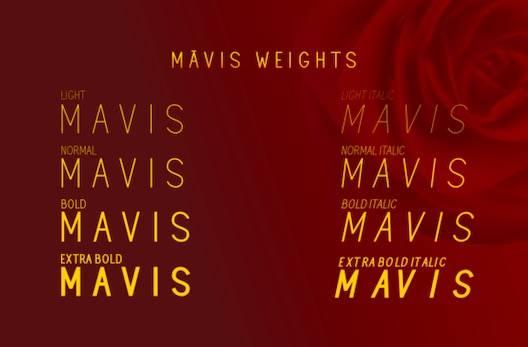 Mavis Font download