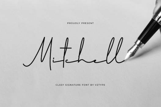 Mitchell Font Free download