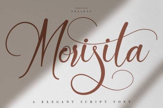 Morisita font
