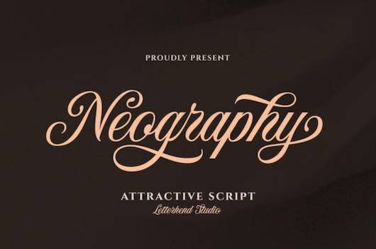 Neography font free download