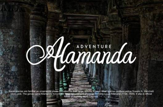 Orlandia font free