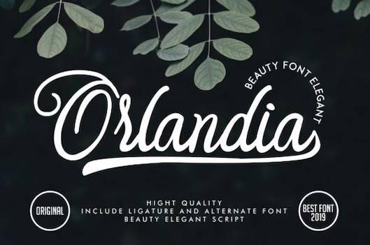 Orlandia font free download