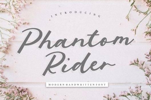 Phantom Rider Font free download