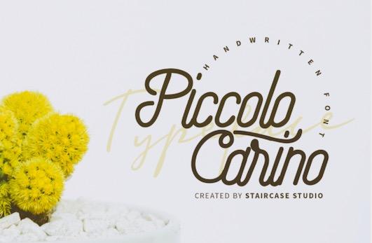 Piccolo Carino Font free download