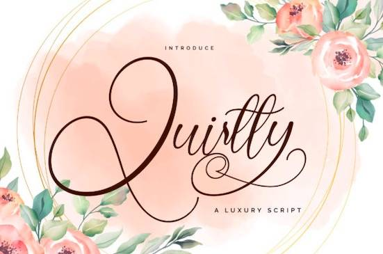 Quirtty font free download