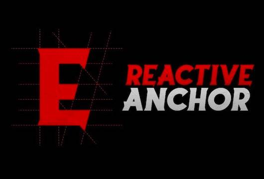 Reactive Anchor Font download