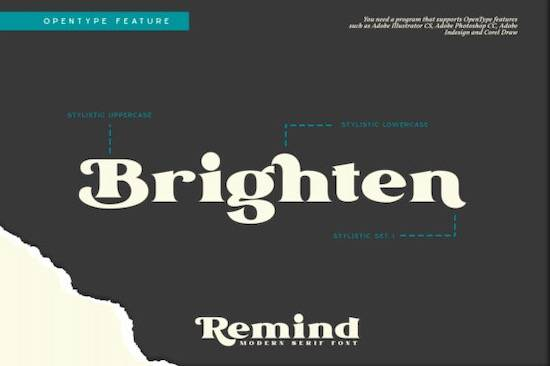 Remind font download