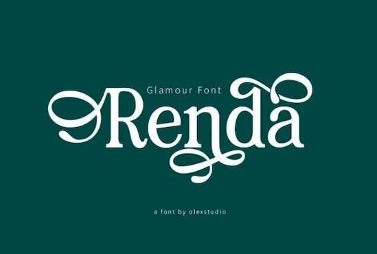 Renda font free download