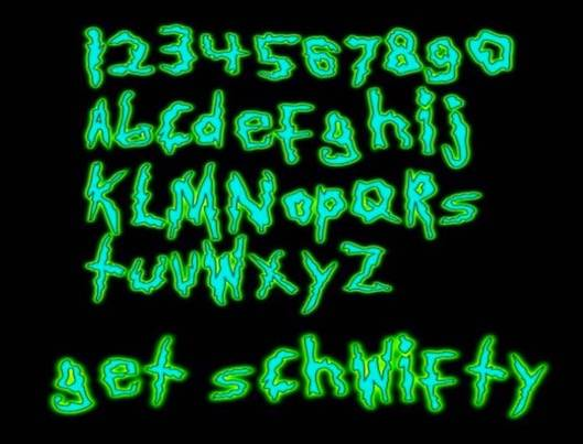 Rick And Morty Font free