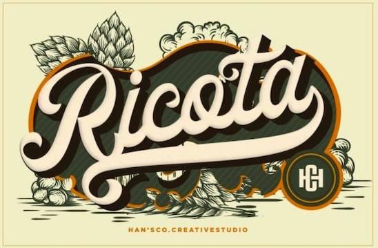 Ricota font free download