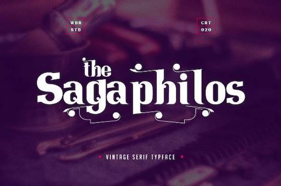 Sagaphilos font download