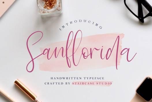 Sanflorida Font free download