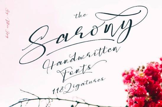 Sarony Font free download