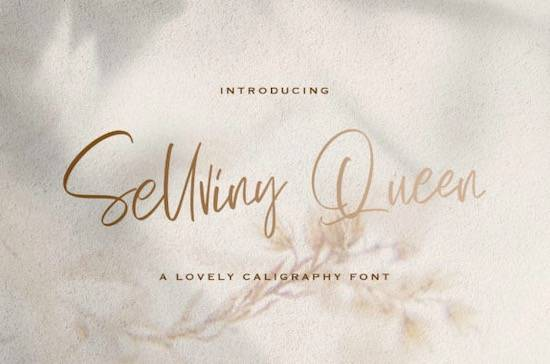Sellviny Queen font free download