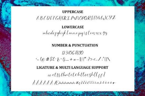 Serotonin font