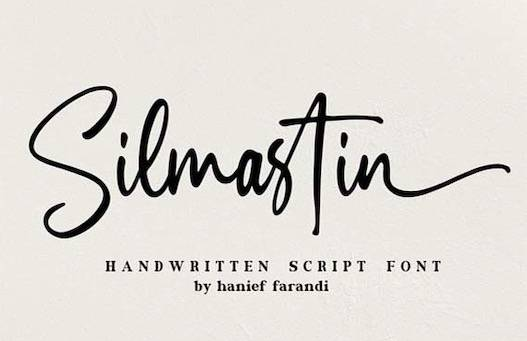 Silmastin Font free download