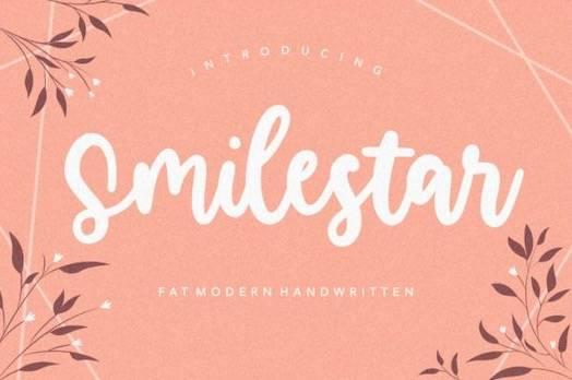 Smilestar Font download