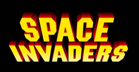 Space Invaders font free download