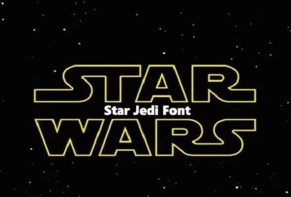 Star Wars Font download