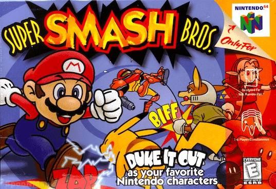 Super Smash Bros. Font