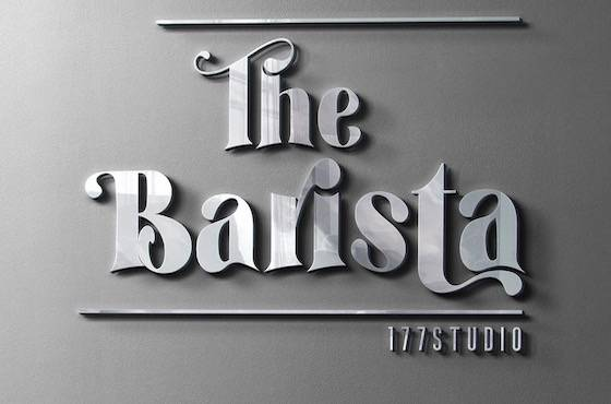 The Barista font download