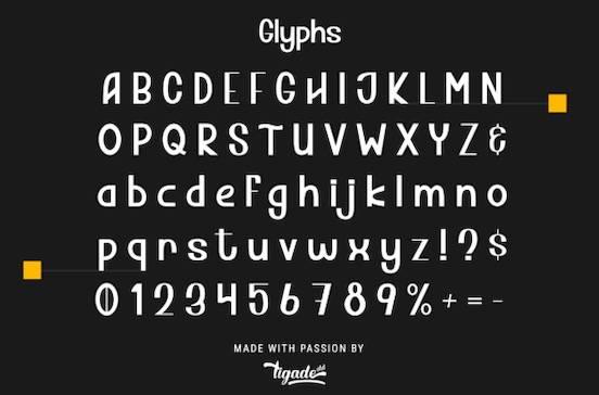 Thorsley font
