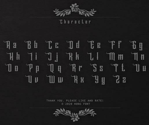 Wallrous Typeface free