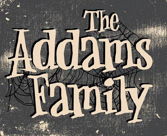 addams family font feature